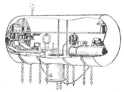 Схематический разрез Диогена
