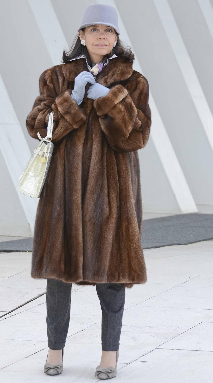 Como reconocer un abrigo de vison