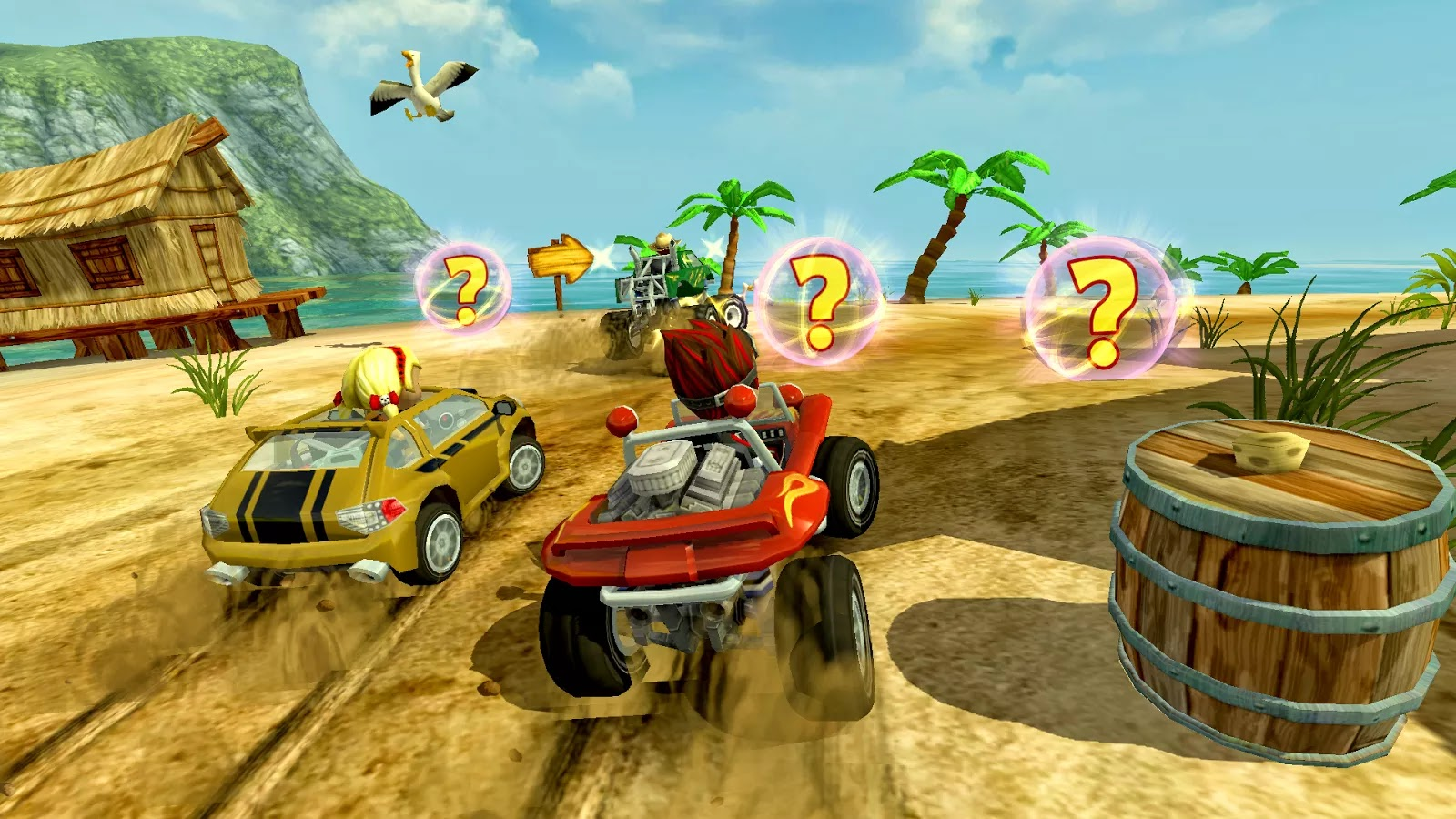 Beach Buggy Racing v1.2.6 Mod