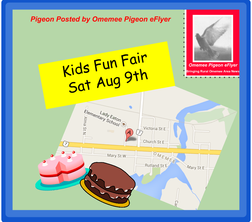 Omemee Kawartha Lakes event august 9 2014 Kids Fun Fair