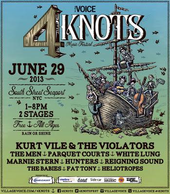 4 knots festival poster