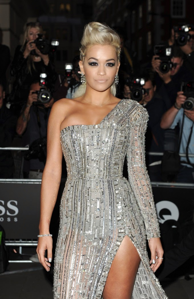 Rita Ora at GQ Men of the Year Awards 2014 in London