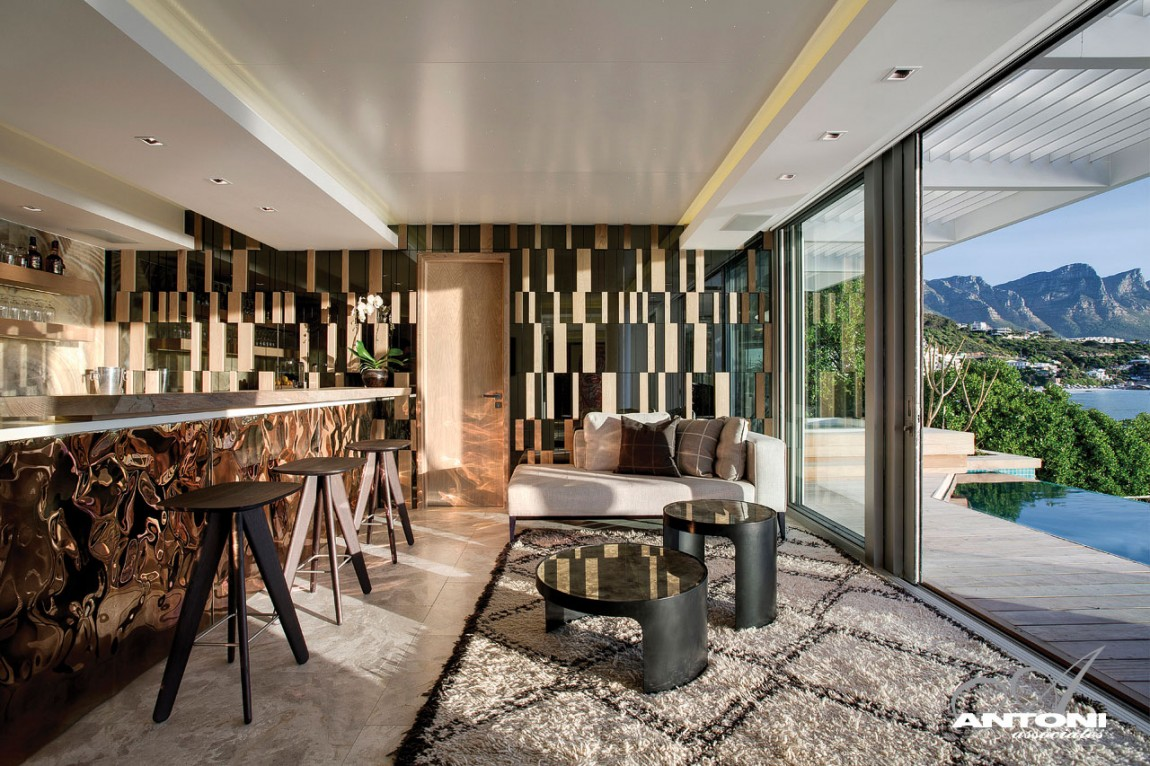 World of architecture clifton view mansion by antoni for Home design ideas south africa