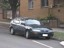 Mobil Sedan Corolla Generasi Ketujuh (1992-1997)