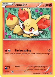 Fennekin BREAKthrough Pokemon Card