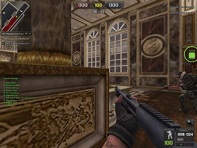 Radio Chat dalam Game FPS Online Point Blank