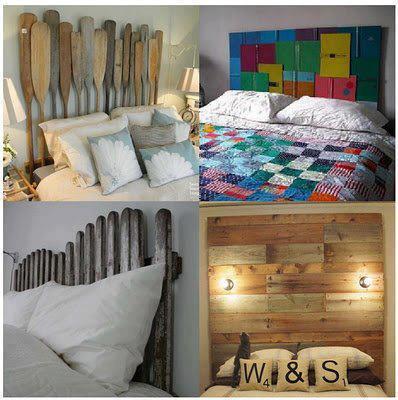 Mil ideas para la casa y el jardin cabeceras de camas - Ideas para cabezales de cama ...