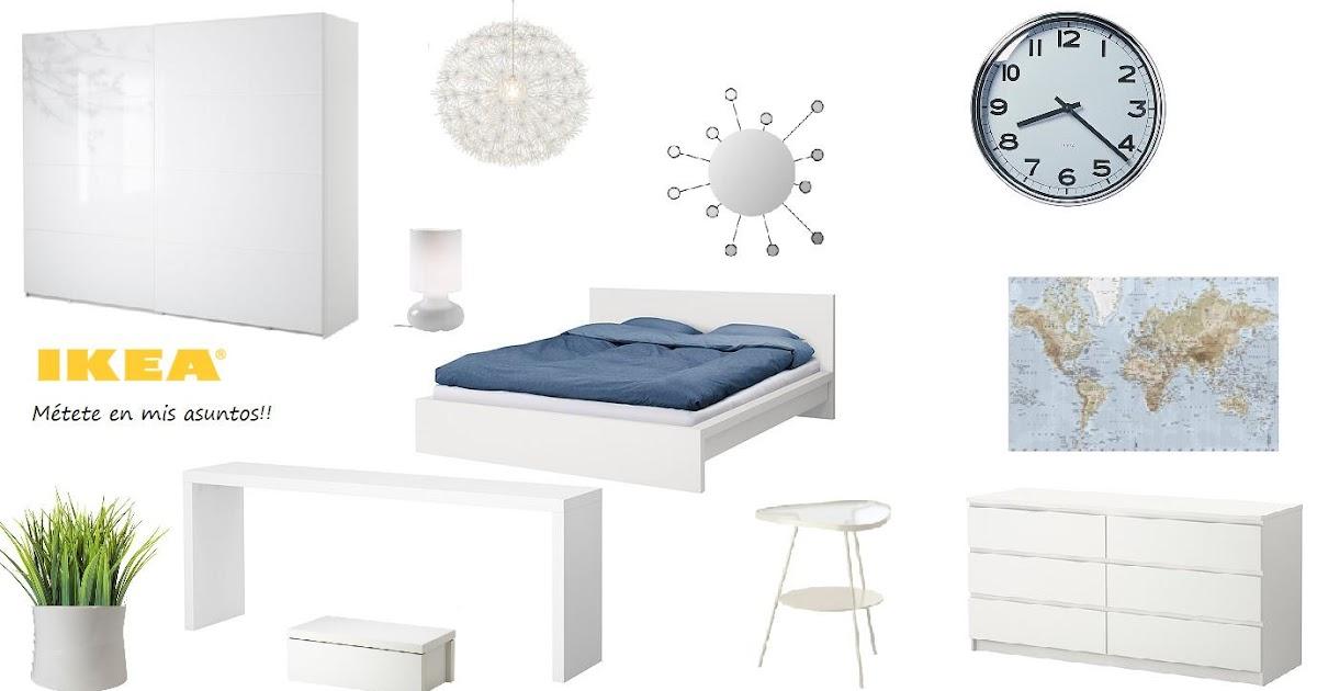 M tete en mis asuntos una habitaci n muy muy luminosa - Dormitorio malm ikea ...