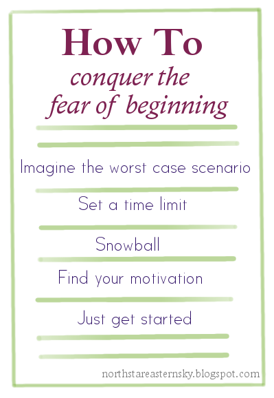 Fear of Beginning