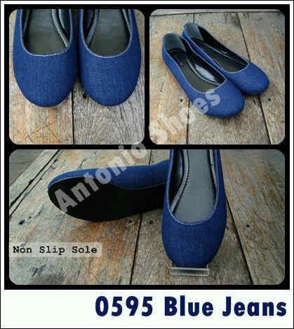 Aneka model sepatu sandal wanita murah,Model sandal wanita terbaru model Blue Jeans