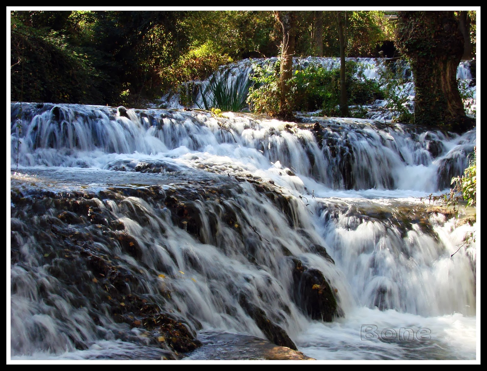 Una visita al monasterio de piedra zaragoza notas en for Estanques con cascadas de piedra
