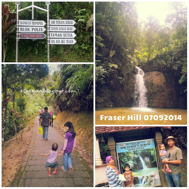 Fraser Hill, #holiday, air terjun Jeriau