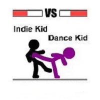 Indie Kid Vs Dance Kid
