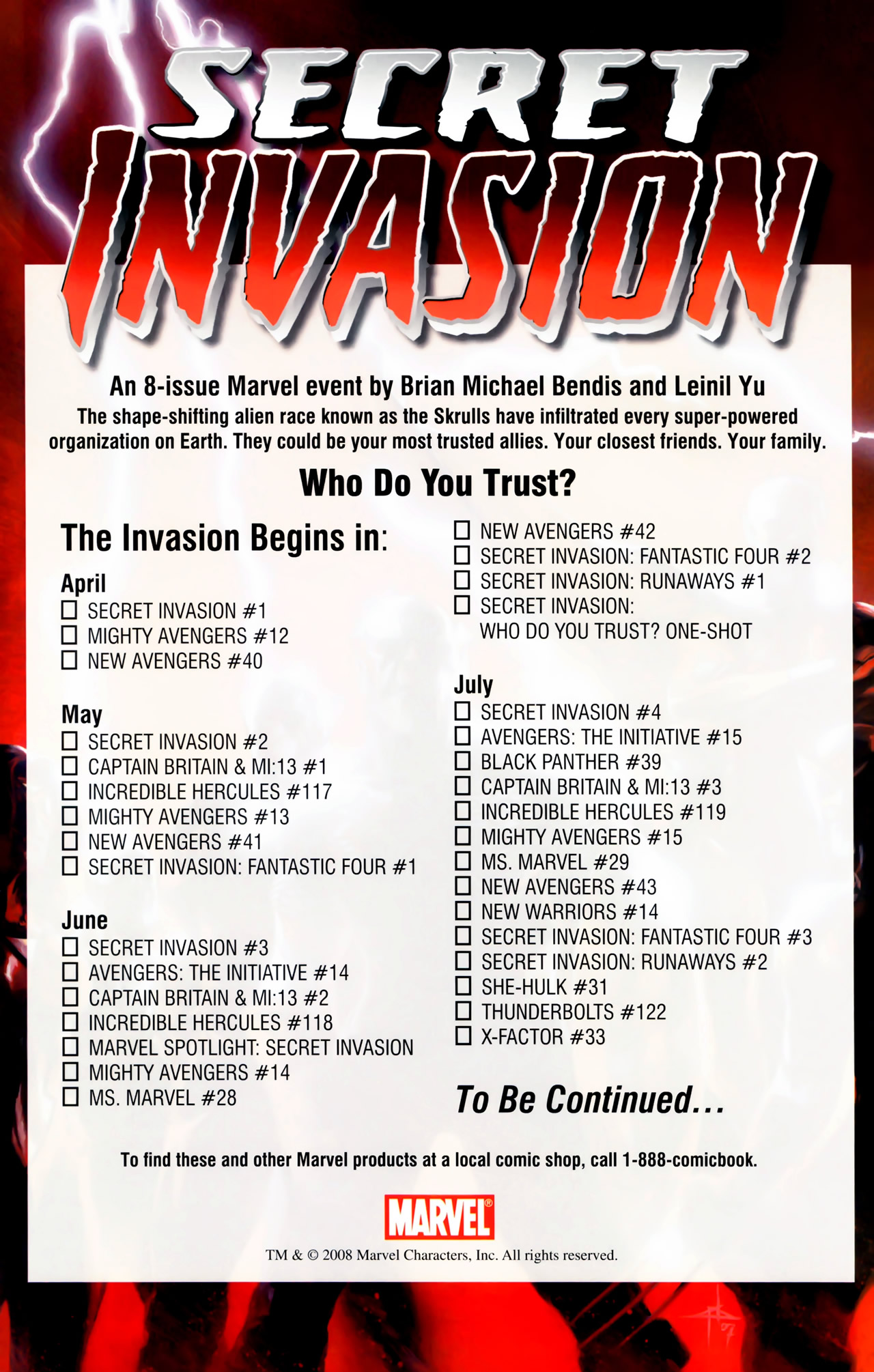 Read online Secret Invasion: The Infiltration comic -  Issue #11 - 26