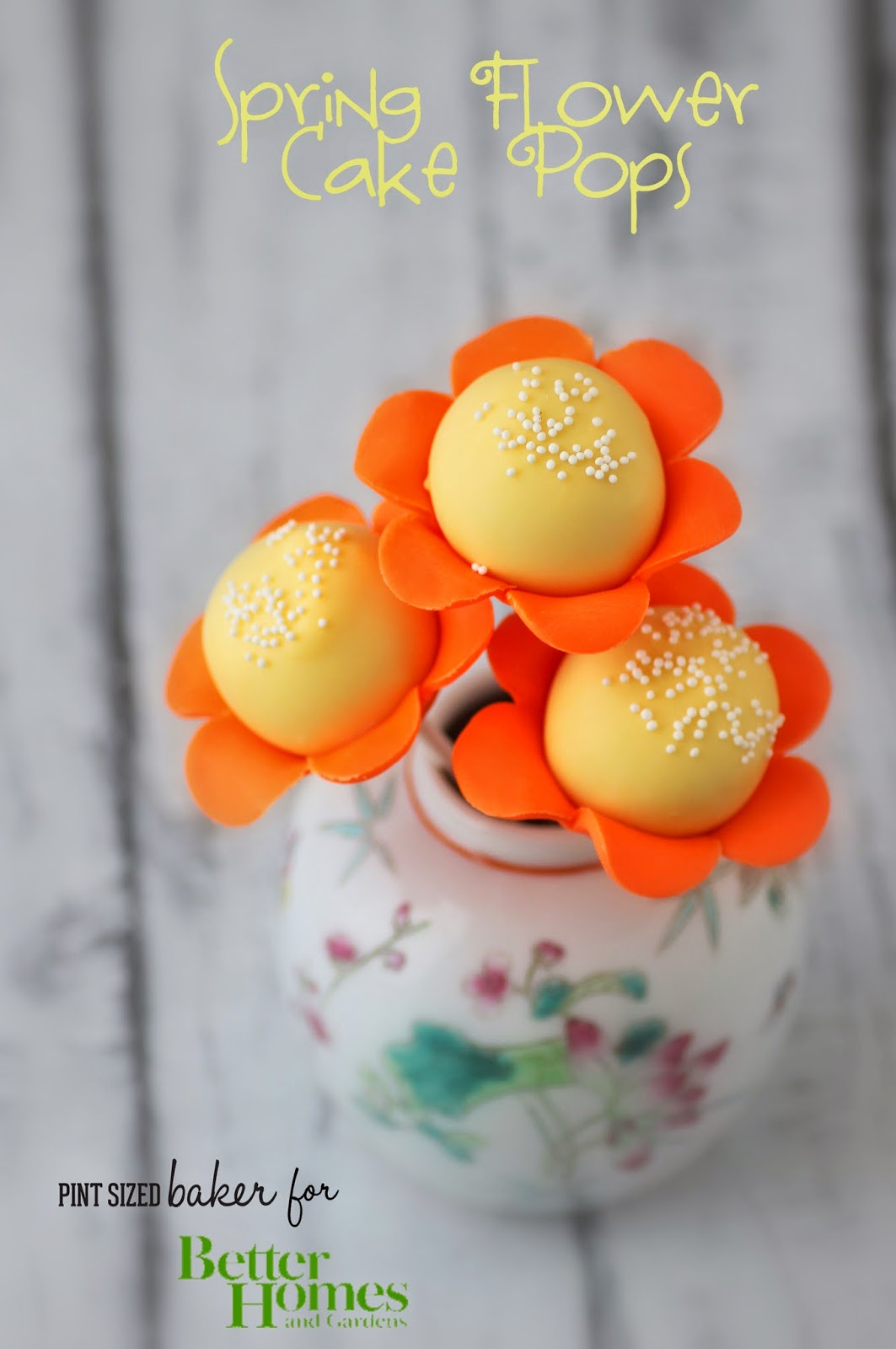 Flowers And Octopus Cake Pops Pint Sized Baker