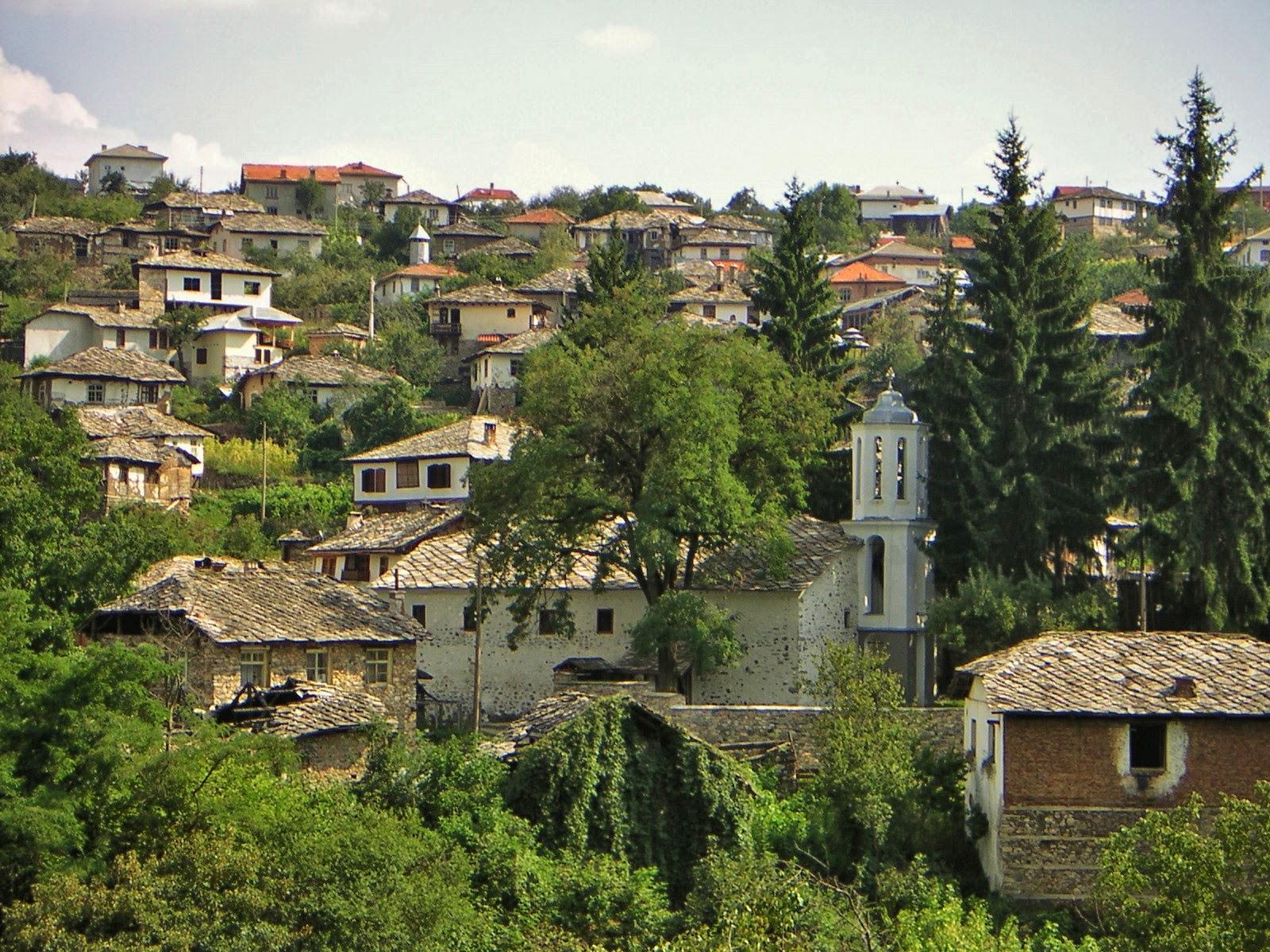 село Долен пейзаж