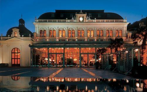 Baños Romanos Baden Baden:Casino at Baden-Baden Germany