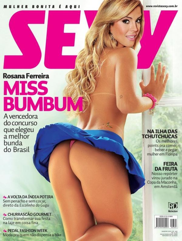 Rosana Ferreira A Miss Bumbum Posa Para Sey
