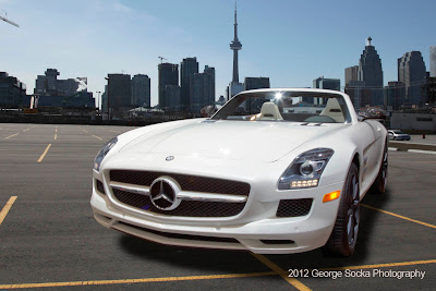 2012 Toronto Auto Show Mercedes HDR