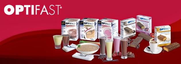 Productos Optifast para dietas de control de peso