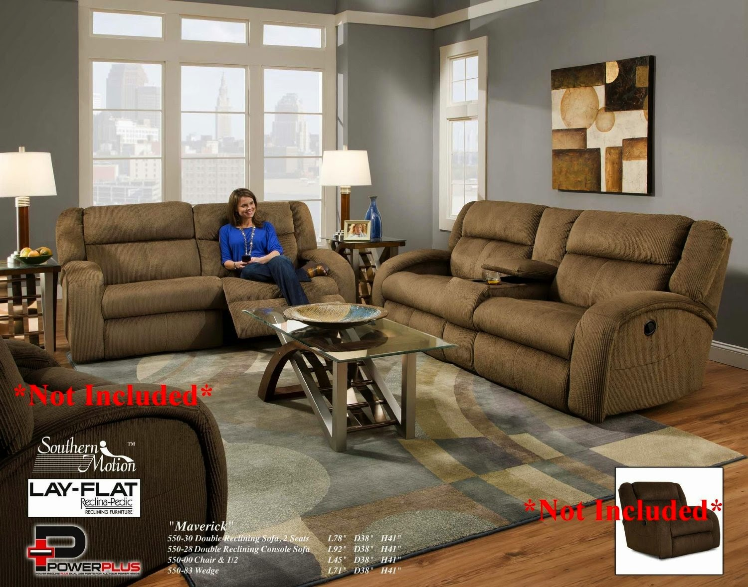 High Quality Southern Motion Maverick Southern Motion Reclining Sofa