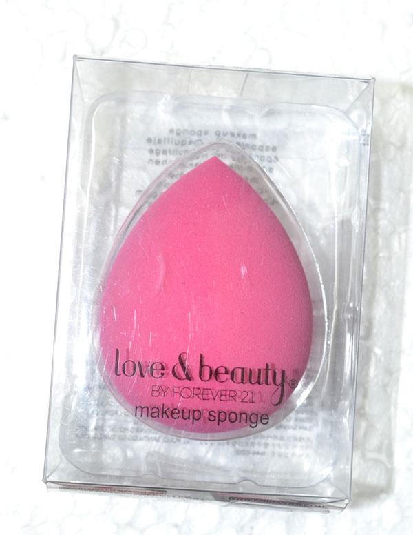 Forever 21 makeup sponge from malaysia