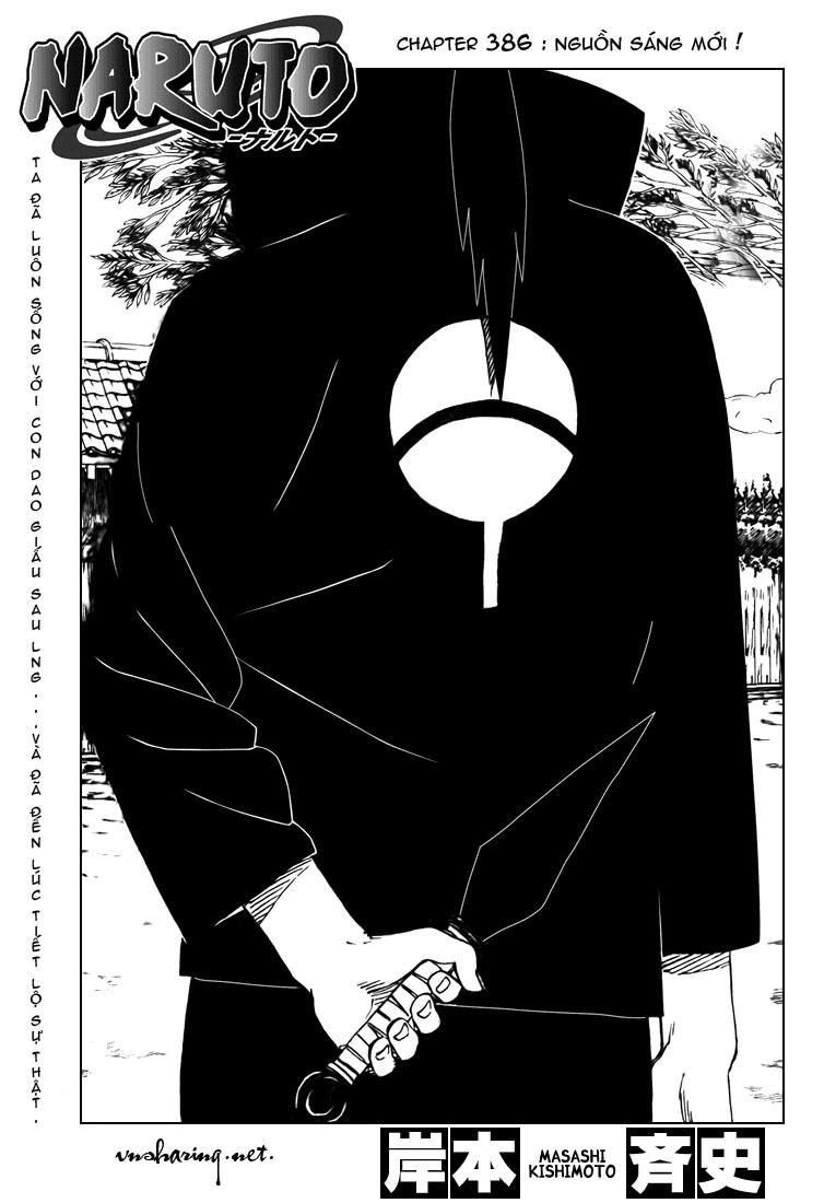 Naruto chap 386 Trang 1 - Mangak.info