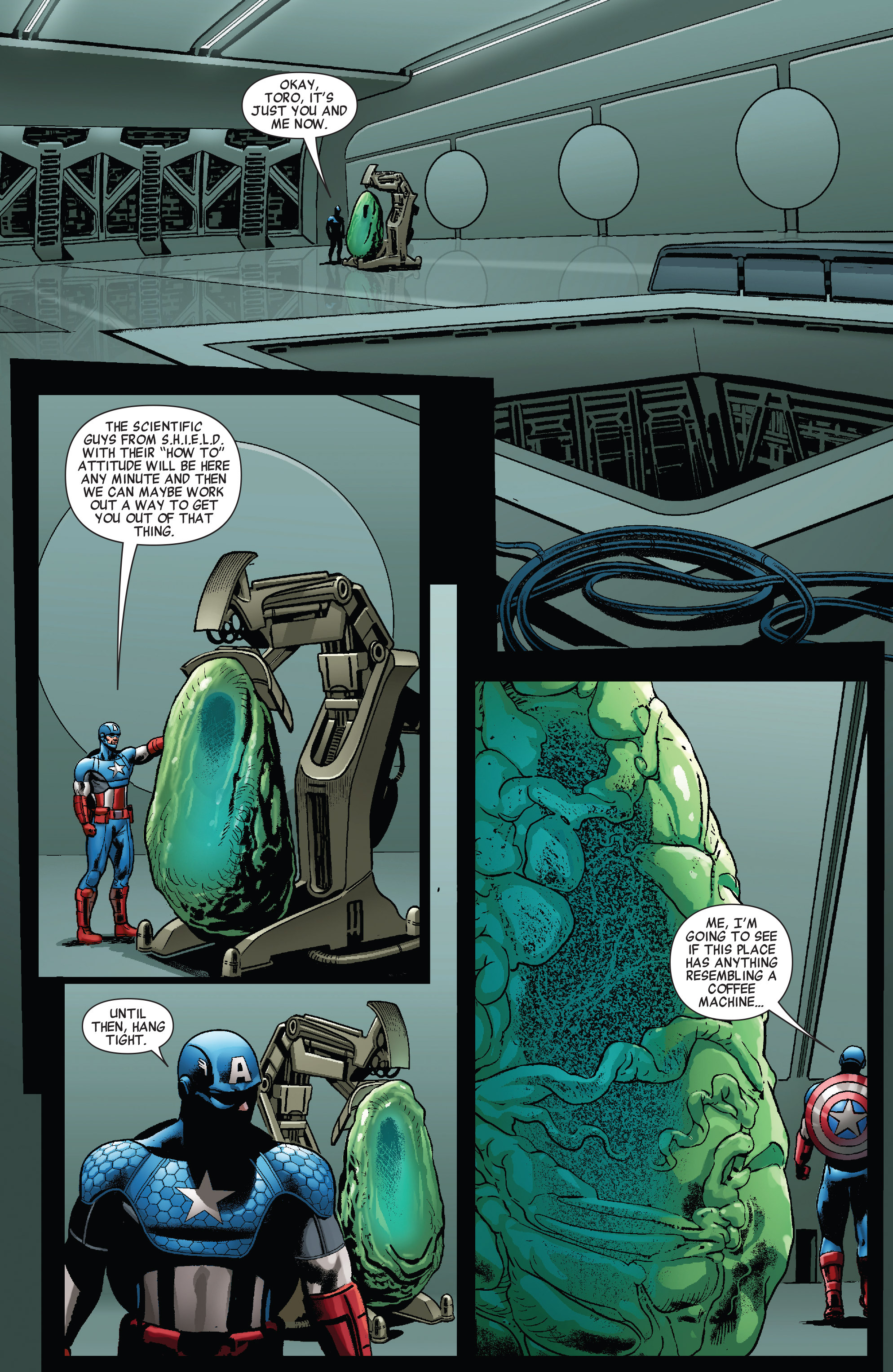 Read online All-New Invaders comic -  Issue #10 - 18