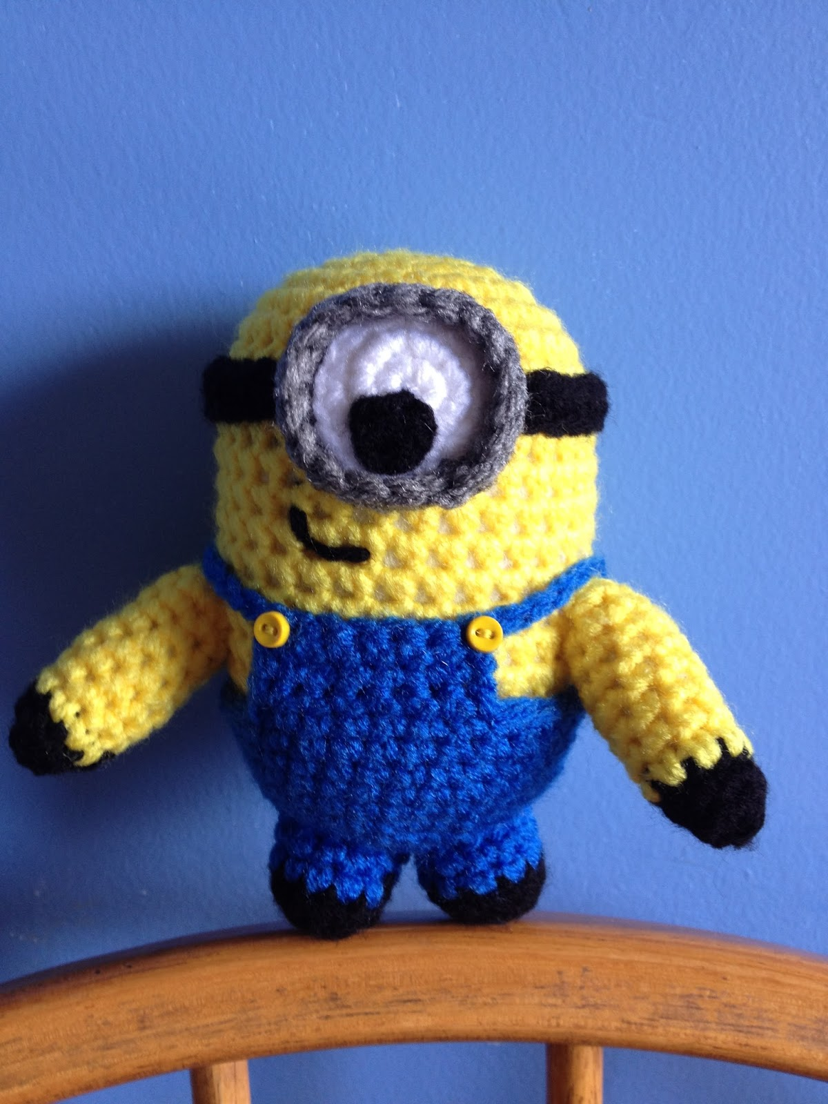 Crochet Me : My Crocheted World: Despicable Me Minion Crochet Doll