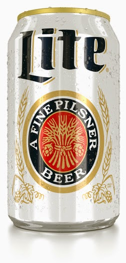 Miller Lite Light Pilsner Miler retro design can beer low gluten pilsner free celiac intolerant test result