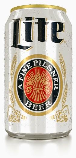 Miller Lite Light Pilsner Miler retro design can beer low gluten pilsner free celiac intolerant test result