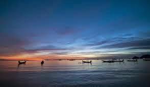 puesta de sol en koh tao