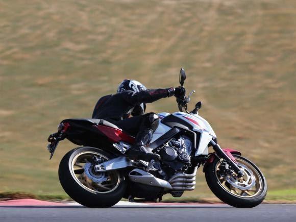 Honda CB 650F Test