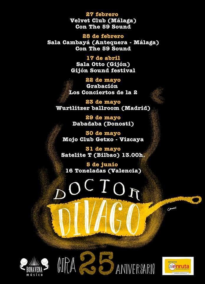 Doctor Divago, gira 25 aniversario