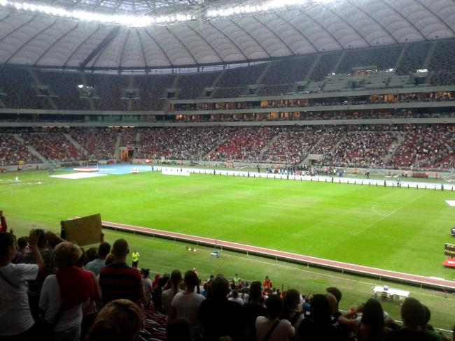 Stadion Narodowy w Warszawie - fot. Tomasz Janus / sportnaukowo.pl