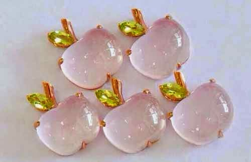Apple Shape Cabochon Gemstones
