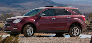 2013 Chevrolet Equinox red