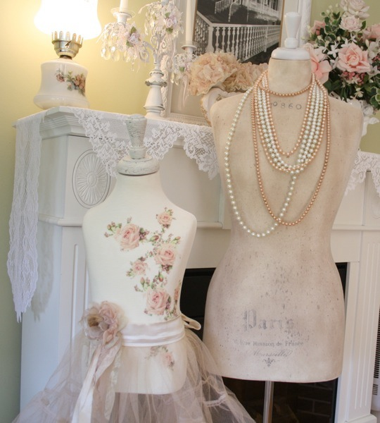 The Polka Dot Closet: Altering A Childs Dress Form