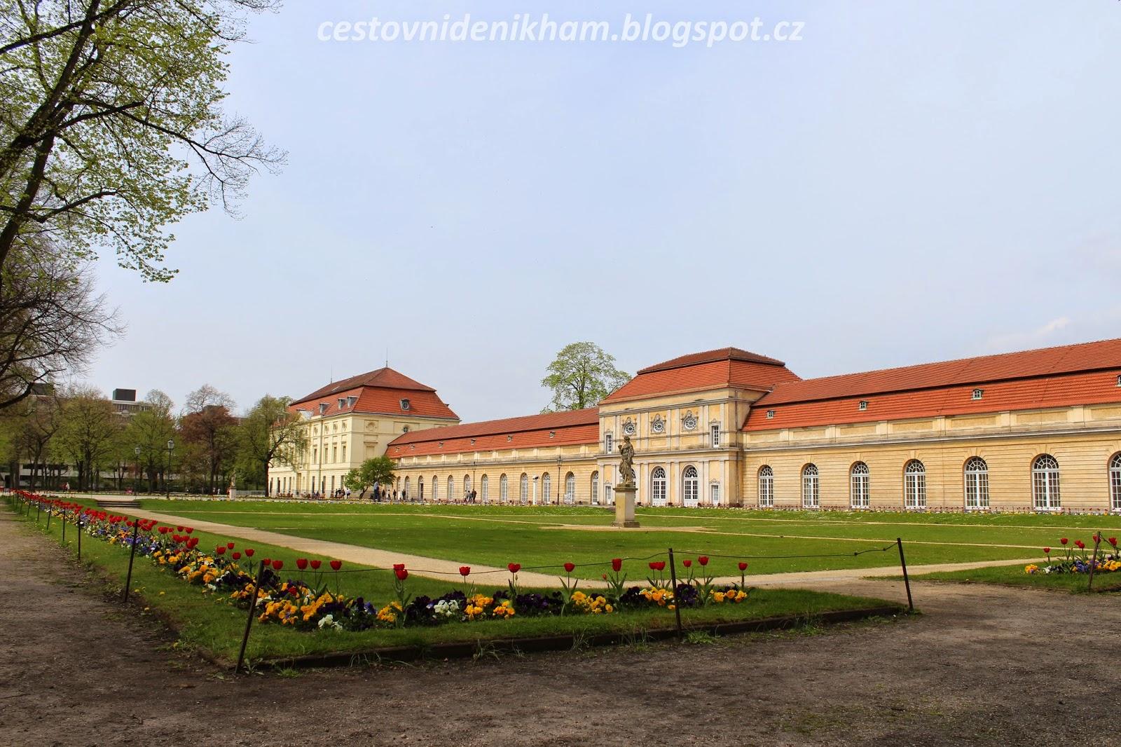 palác Charlottenburg a zahrady // Charlottenburg palace and garden
