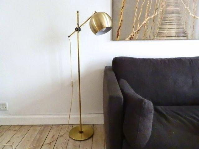 Retro Lampe Standerlampe