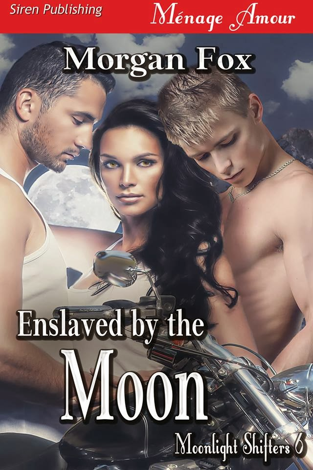 Enslaved By The Moon by Morgan Fox, coming Wednesday, December 25th
