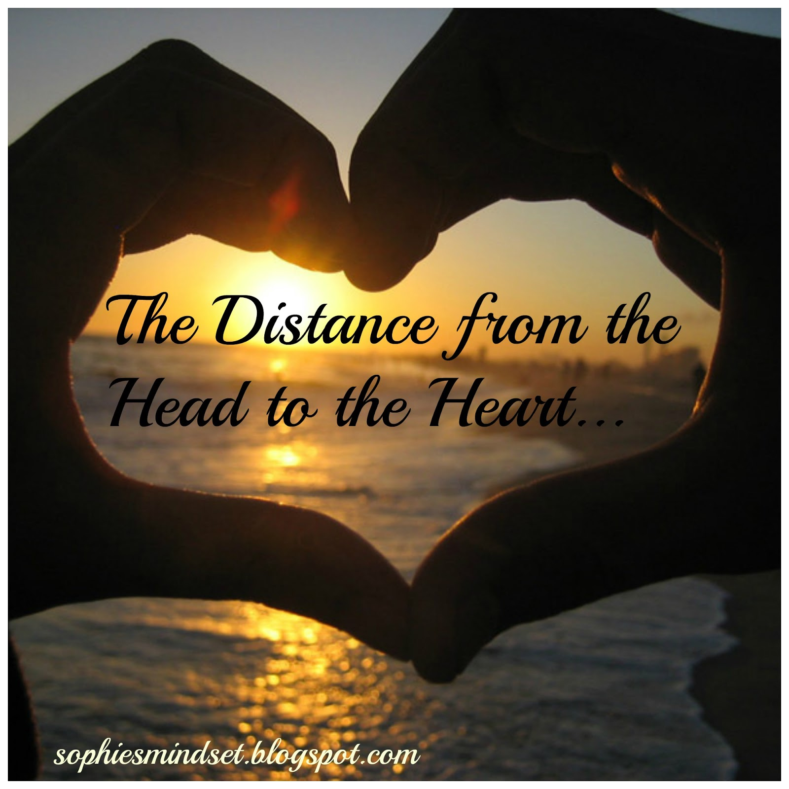 Sophie\'s Mindset: The Distance from the Head to the Heart...