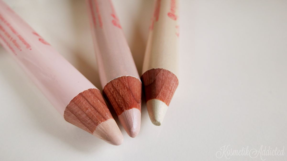 essence big bright eyes Pencils | highlight it... nude ... pearly ... funky