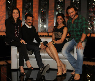 Saif Ali Khan, Deepika & Anil Kapoor on The Front Row