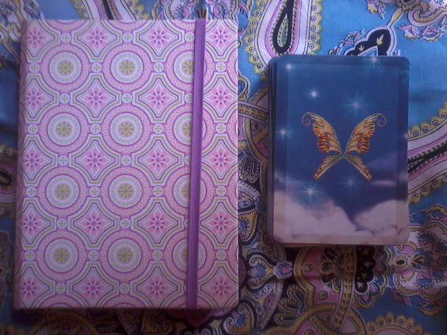 Angel Journal & Healing with the Fairies Deck