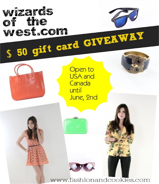 Wizards of the West $ 50 gift card Giveaway on Fashion and Cookies