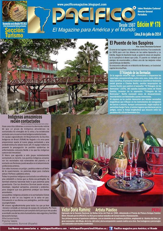 Revista Pacífico Nº 178 Turismo