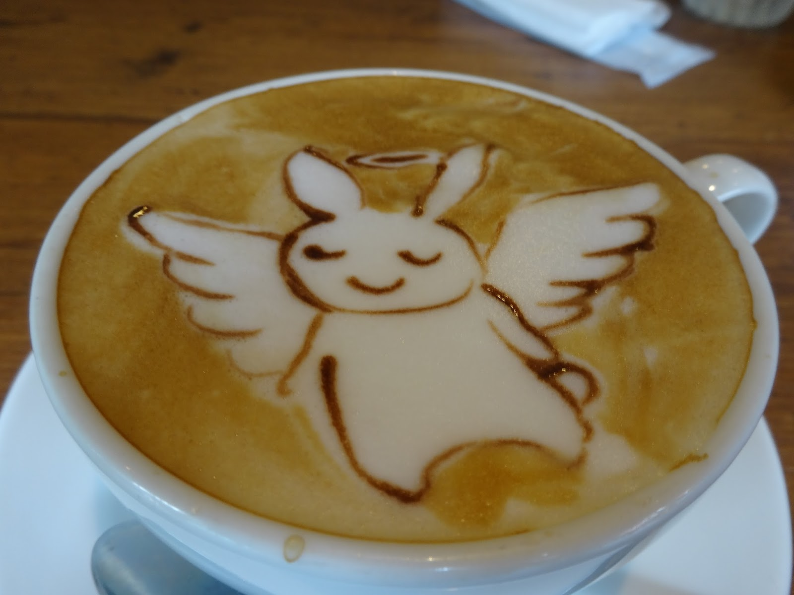 天使のウサギ