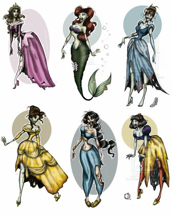 Email This BlogThis  Share to Twitter Share to Facebook Share to    Zombie Disney Characters Costumes