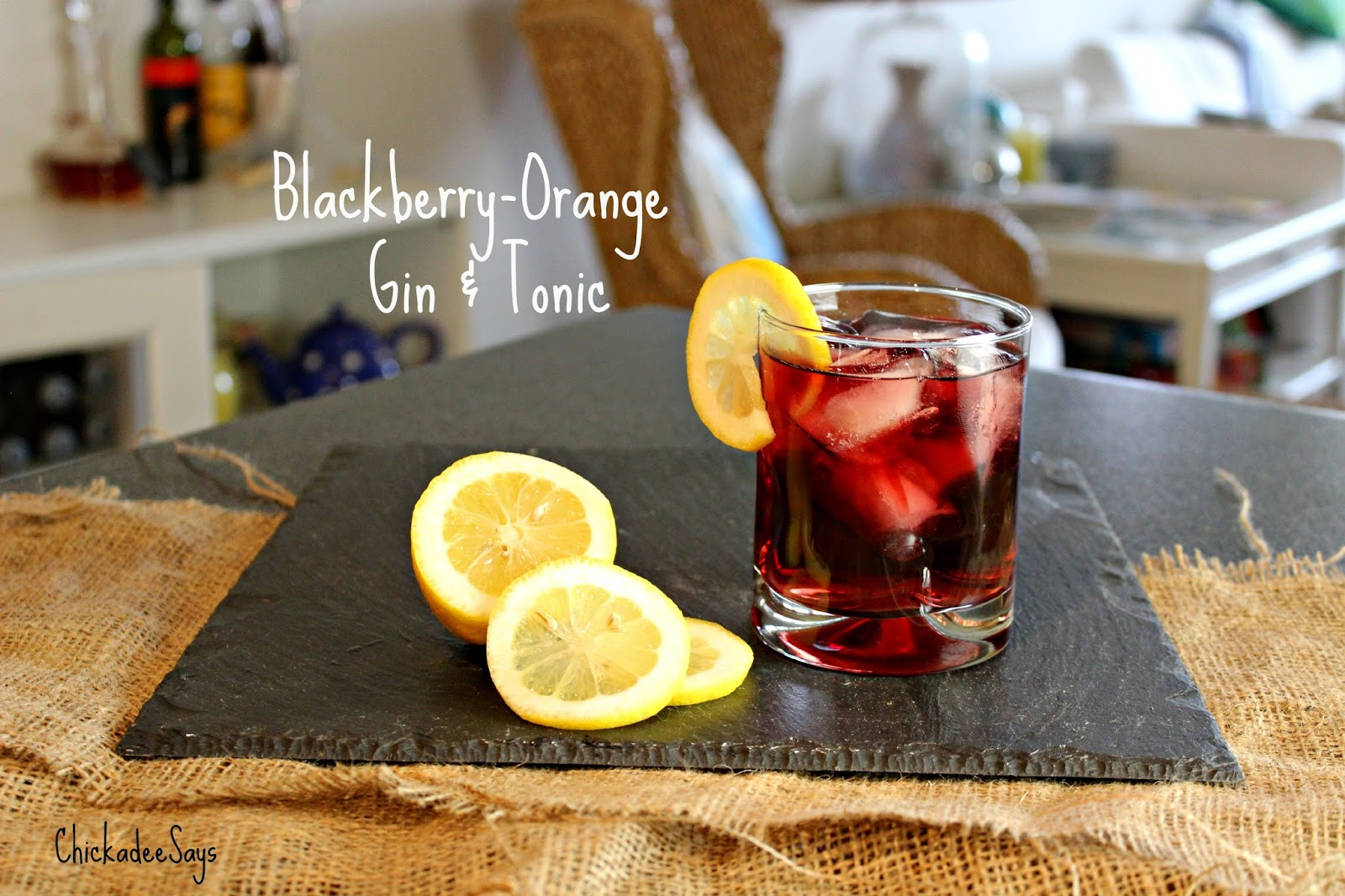Summer Drink Series: Blackberry-Orange Gin and Tonic | Habits of a ...
